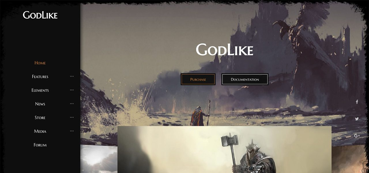 Godlike - The Game Template - nK